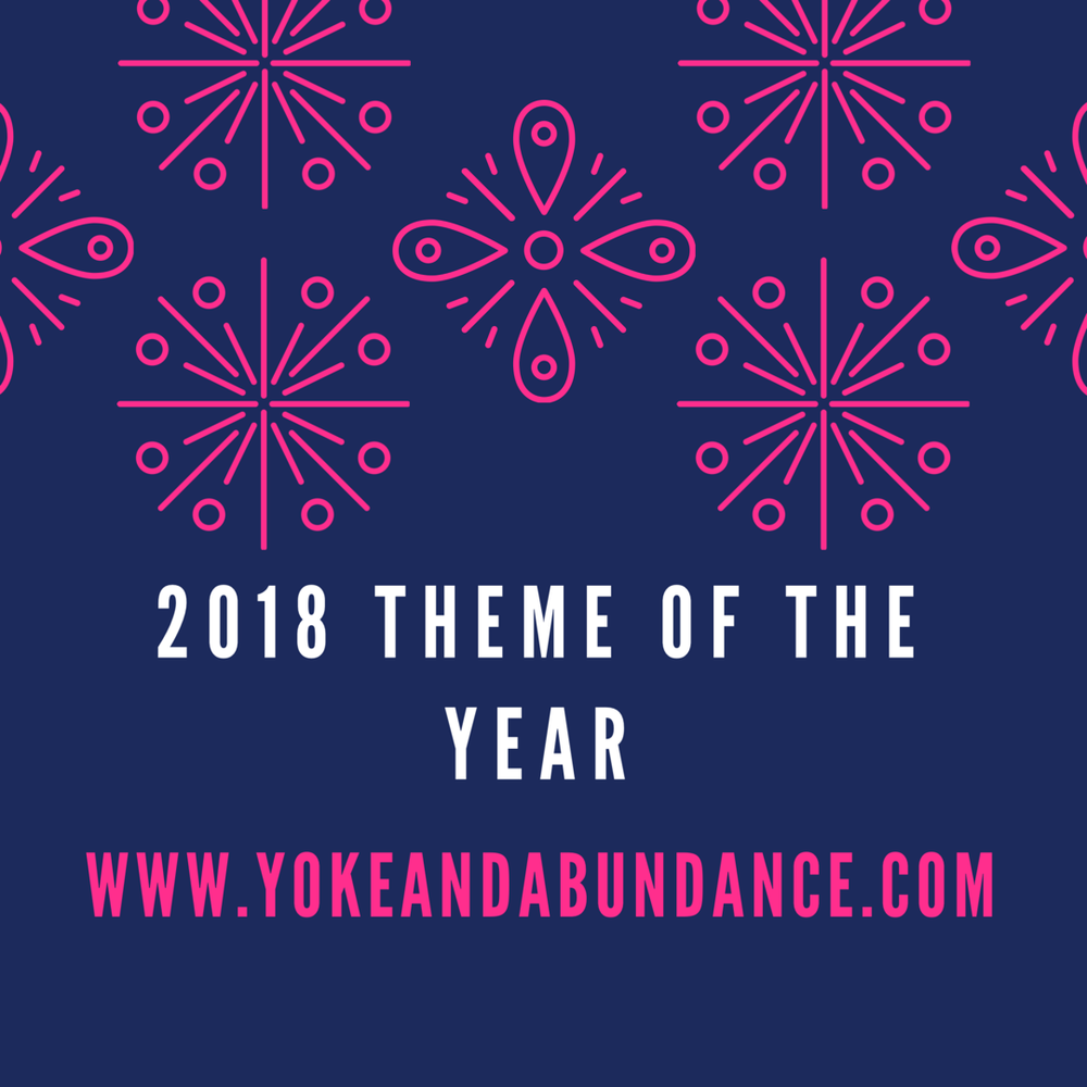 2018 Theme of the year
