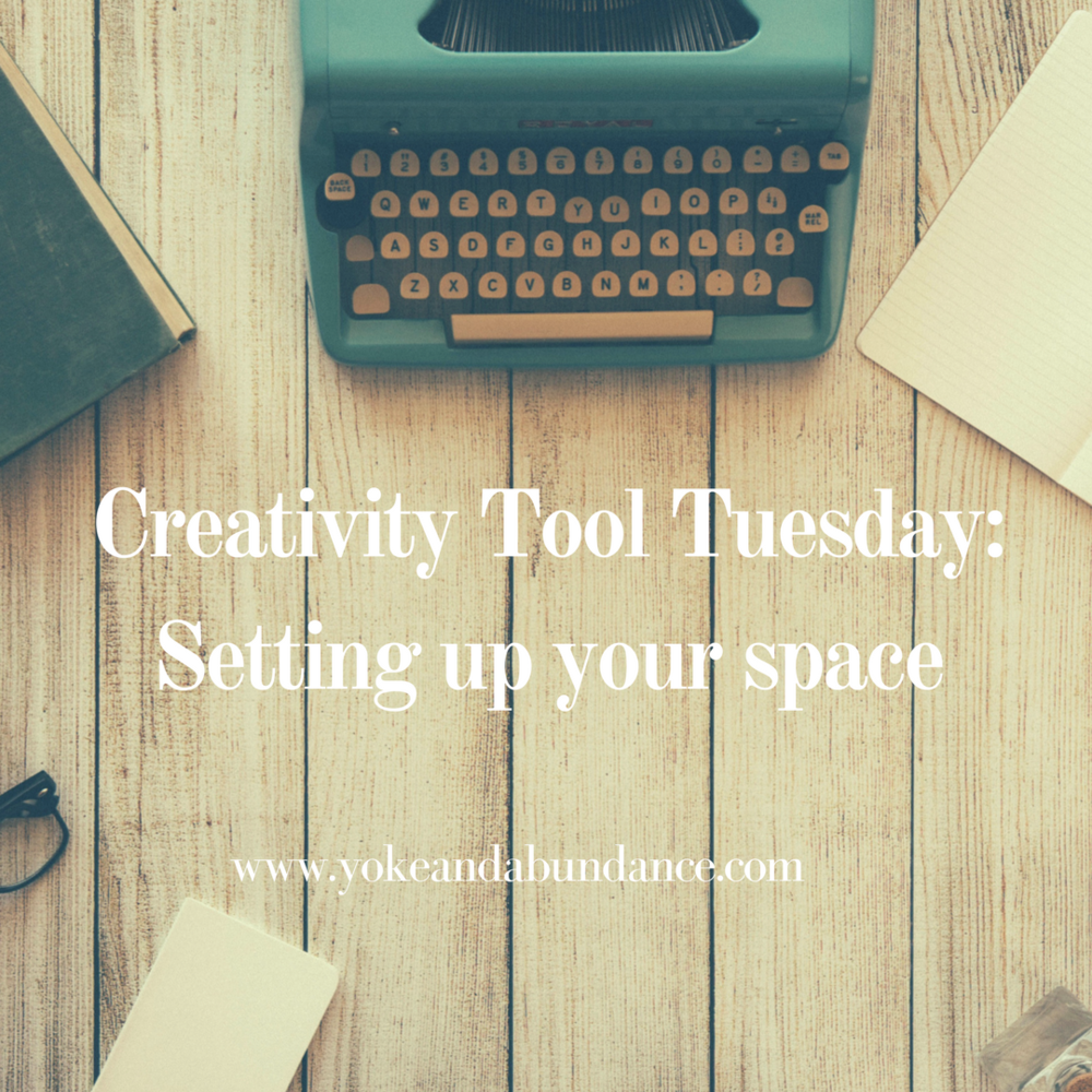 Creativity Tool Tuesday Setting up your space.png