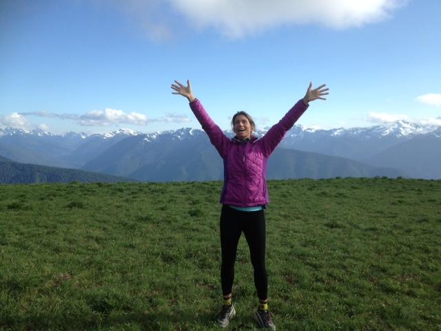 Angela Marie Patnode hiking