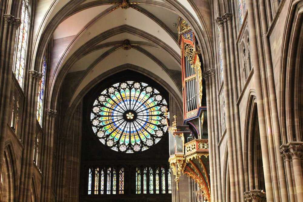 Notre Dame, Strasbourg, Switzerland