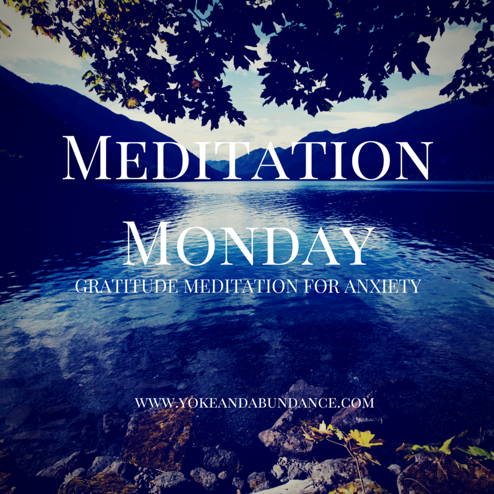 Gratitude Meditation for Anxiety