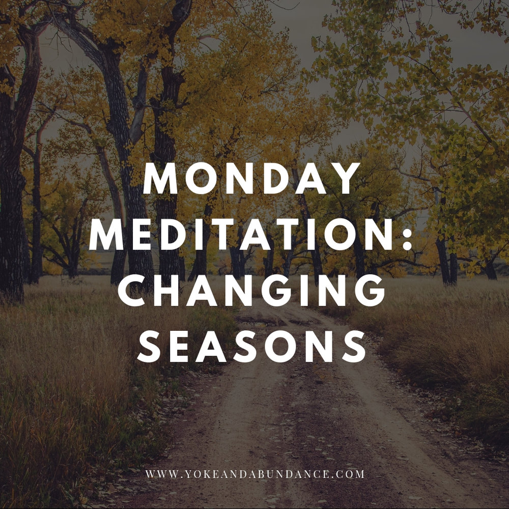 Monday Meditation Changing Seasons.jpg