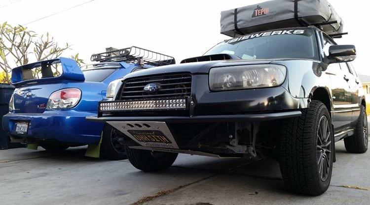 Subaru Forester Light Bar Install - Subaru Cars Review