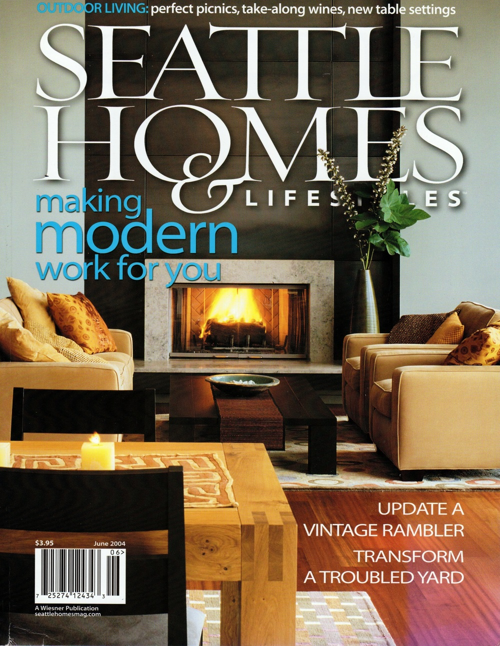 SEATTLE HOMES & LIFESTYLES    June 2004   Beach House