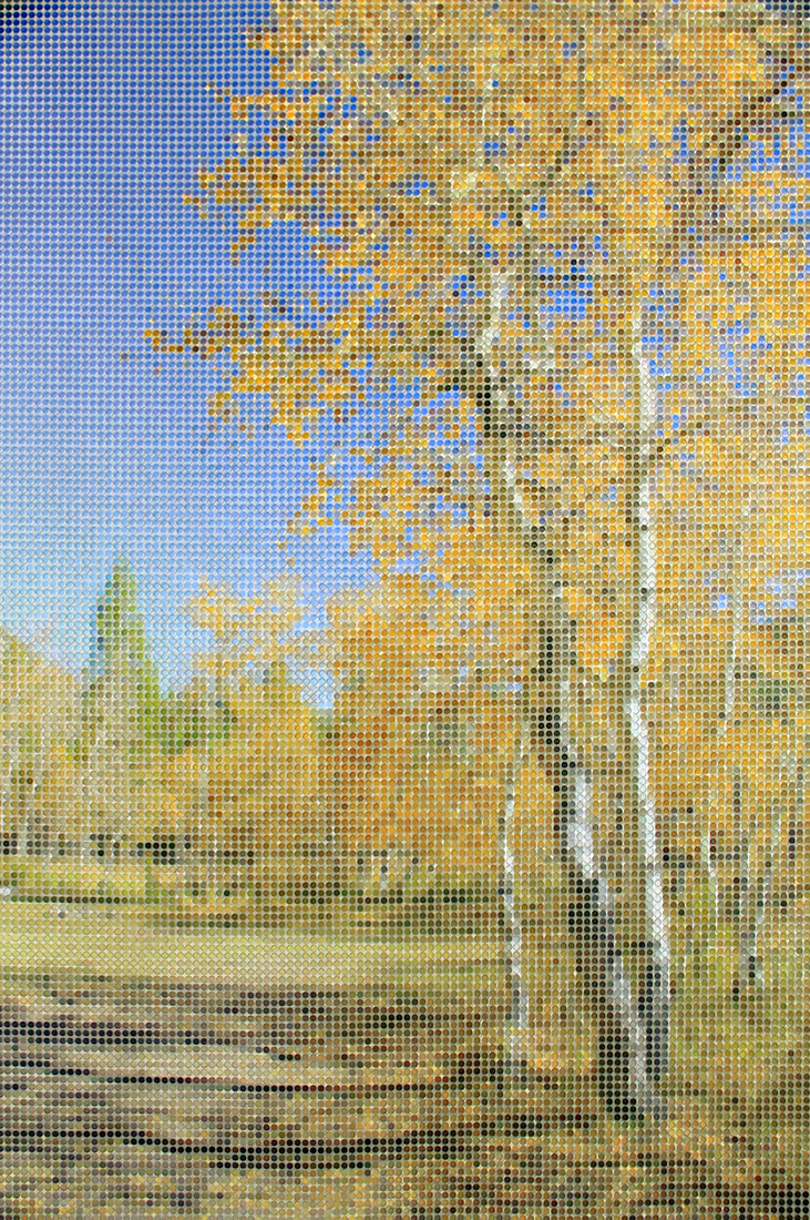 Landscape with Aspens v.1