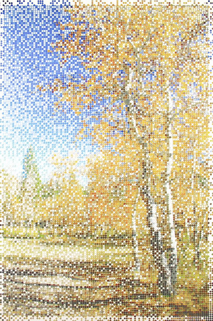 Landscape with Aspens v.2