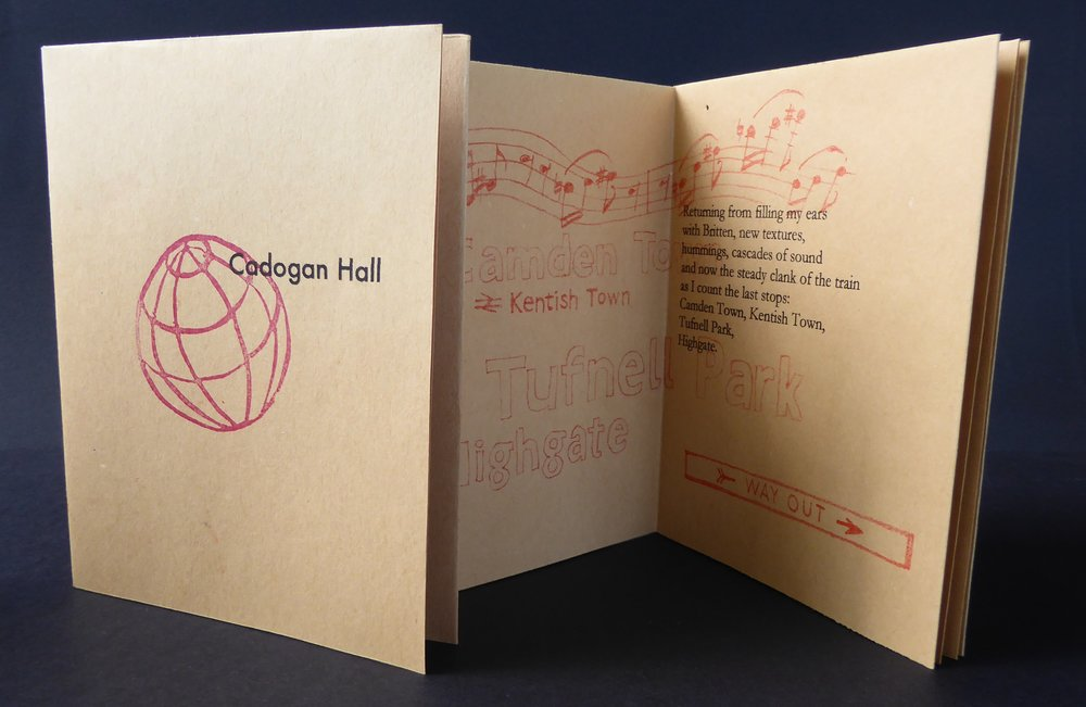 Travel Zine - Cadogan Hall