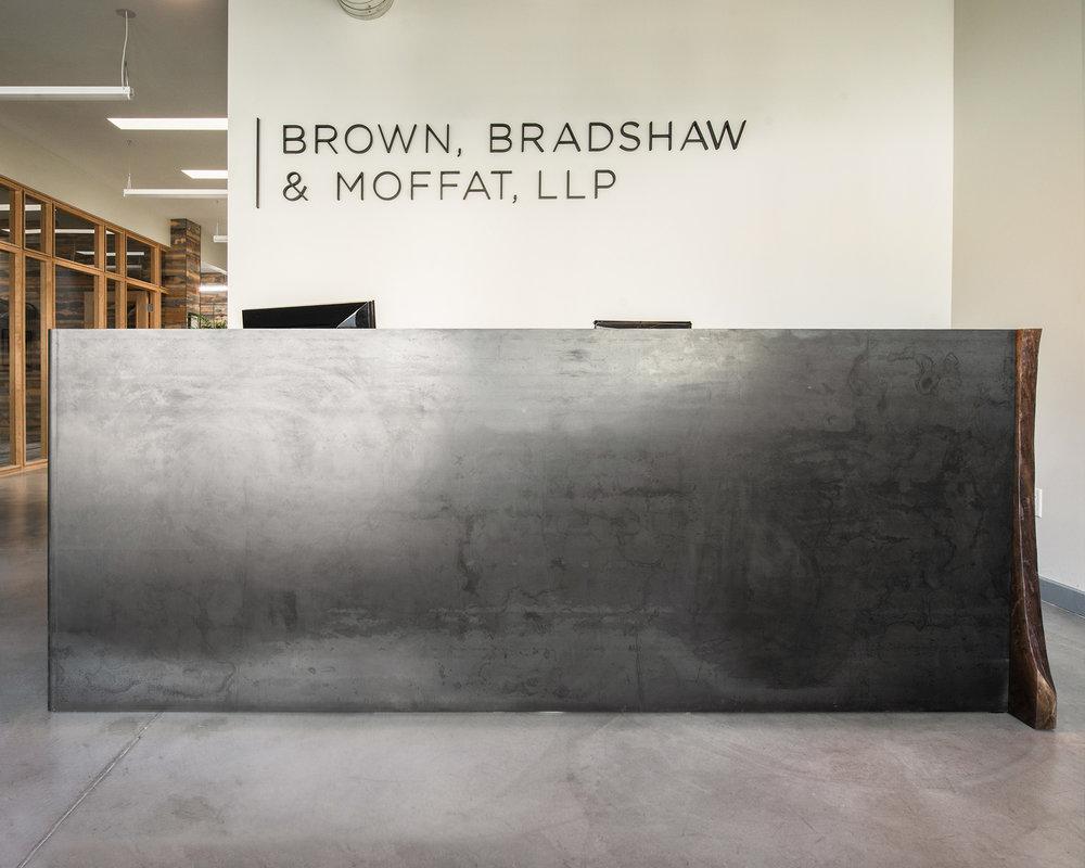 IronClad® Metal Reception Desk