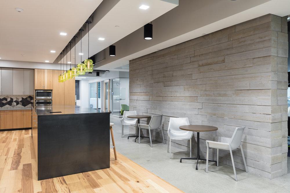 Extra Space Storage OrganiCrete® Concrete Boardform Wall
