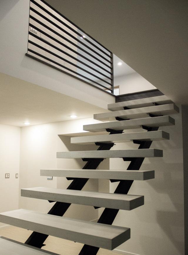 OrganiCrete® Concrete Stair Treads