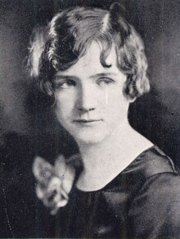 Rachel Carson's 1928 Yearbook Portrait - Pennsylvania College for Women