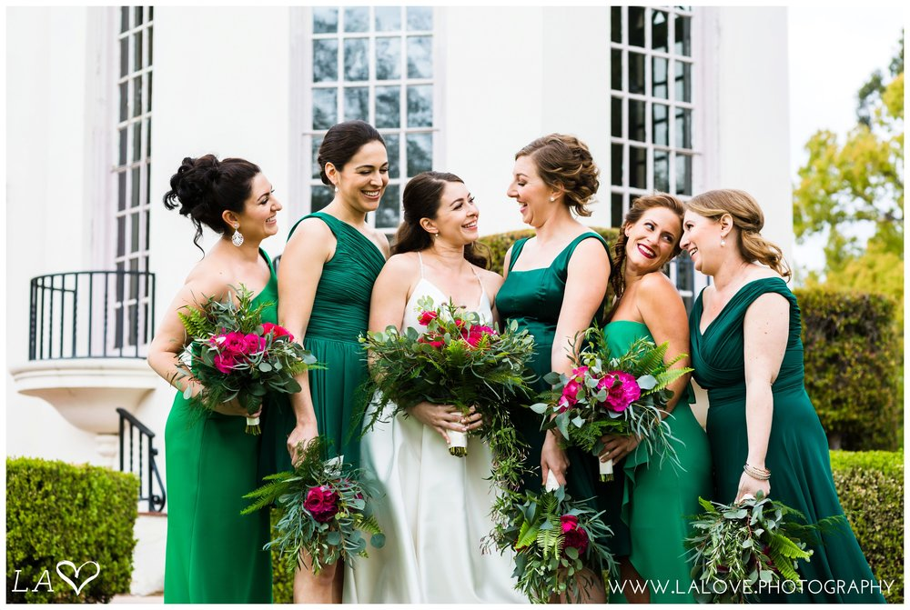 Muckenthaler Center Wedding - Bridesmaids