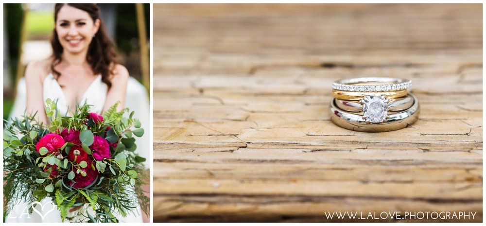 Muckenthaler Center Wedding - Rings