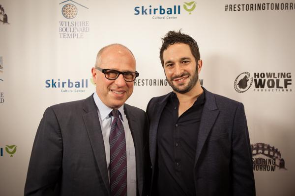 Rabbi Steve Leder & Aaron Wolf