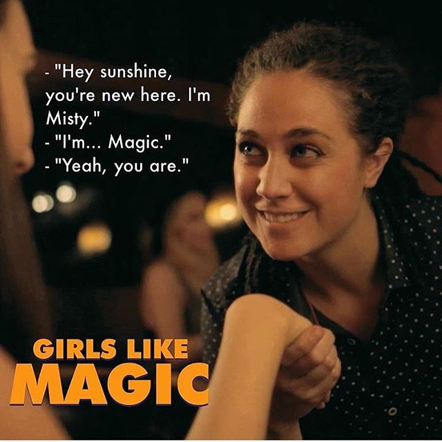 Who could resist those eyes? Watch @crosay try her luck in episode 2 of #girlslikemagic #thirsty #girlslikegirls #loveismagic #lovewins #loveislove #lovetrumpshate #lgbt #lgbtq #thelword #thereallword #pride #pride🌈 #indiefilm #webseries #comedy #lgbtcomedy #romanticcomedy #romcom #sexcomedy