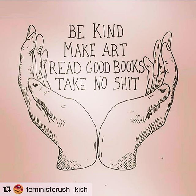 #Repost @feministcrush (@get_repost) ・・・ 🙌🏻🙌🏻🙌🏻 #Repost @outspokin_bookish (@get_repost) ・・・ Reminders that these hands and heart are my sanctuary. My ethic of care is also rooted in a realistic understanding that I don't need to put myself last. Thank you @sofolo for posting this. #takenoshit #donoharm