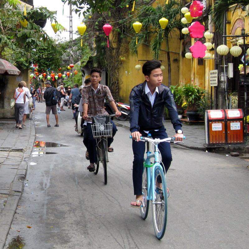 Hoi An street scene.