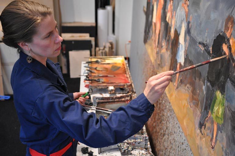 """Encaustic Painting with Willow Bader - THURSDAY-SUNDAY, NOVEMBER 1-4$800.00REGISTRATION INFORMATION: Willow Bader Encaustic WorkshopQuestions about the workshop content, contact PTSA at 360-344-4479.Questions about registration, visit Centrum's Registration Site: Encaustic Painting WorkshopPort Townsend School of the Arts invites artists to gain skills in encaustic painting with Seattle artist Willow Bader.PTSA is partnering with Centrum for the first time to create the new annual workshop, scheduled for November 1-4, 2018. Encaustic is an ancient style of painting that uses a mixture of hot beeswax,resin and pigment to create works that have dimension and vibrant color.""""I really take pleasure in sharing what I know,"""" Bader said of her passion for teaching. """"It's especially rewarding to watch students take on new concepts and run with them. Most people do not know it's even possible to paint with encaustic. I like to open their eyes.""""The cost of the workshop is $800 and includes breakfast, lunch and dinner at Fort Worden State Park, where the workshop will take place. That cost does not include housing. For students who need lodging, the fort is offering a 15 percent discount on campus housing. Participants should contact the Fort directly to book a room at (360)-344-4400.Encaustic participants can expect about 15 hours total of instruction over the course of three days and will take home two works on wooden boards. Artists do not need to bring their own supplies. Class size is limited to 16 artists aged 18 or older. Bader recommends students arrive with some drawing and painting experience. Even those with advanced encaustic skills will gain new knowledge from the one-on-one instruction Bader will provide.ABOUT WILLOW BADERWorkshop ScheduleThursday, November 14 -5 p.m.: Check-In5- 6 p.m.: Dinner7-9 p.m.: IntroFriday, November 27-9 a.m.: Breakfast9 a.m.-Noon: Demo followed by painting session with one-on-one instructionNoon-1:30 p.m.: Lunch1:30-4 p.m.: Painting sess"""