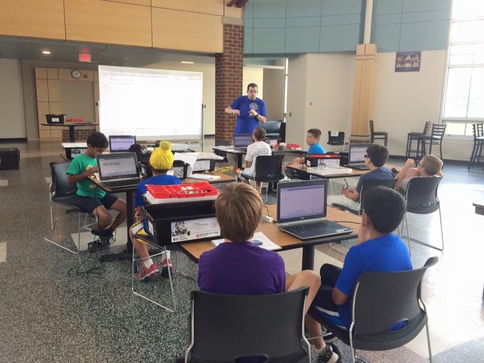 EV3 Camp in Bristow