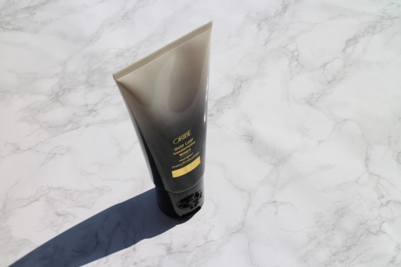 Oribe Gold Lust Transformative Masque.