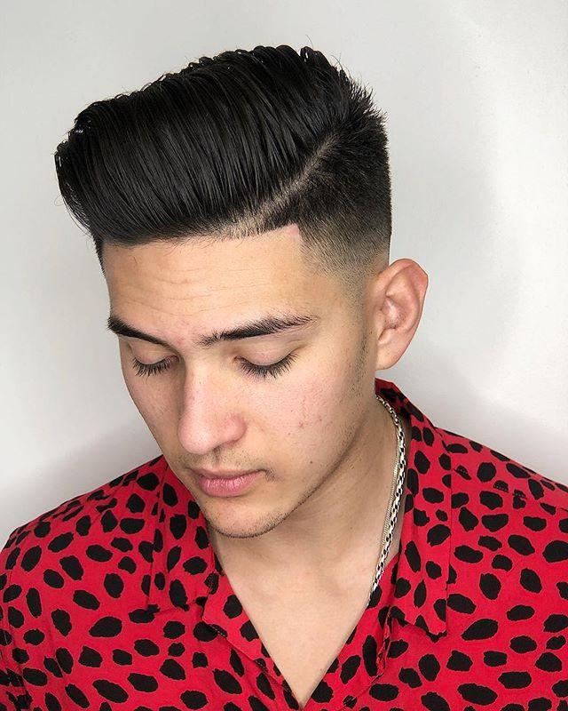 Style matters. Cut by @ljb.hair.artisan. #DedicationSalon #lagunaniguel #mensgrooming #orangecounty #barbering #clippercut #babylisspro #menshairstyles #hairbrained
