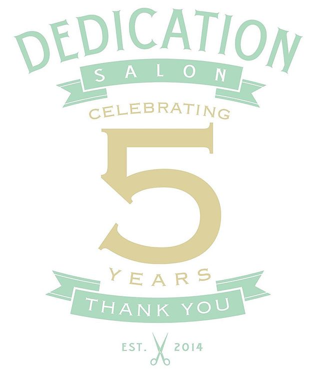 Thank you for such an incredible first Five years!! We could never express just how grateful we are to each and every one of you! Thank you so much for your loyalty and continued support. ❤️#DedicationSalon #lagunaniguel #orangecounty #hairbrained #oribe #randco #americansalon #salonbirthday #attitudeofgratitude