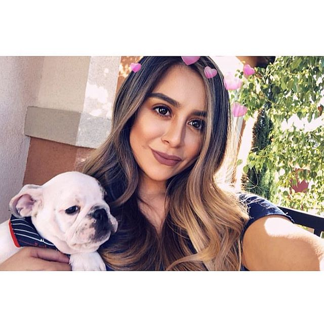 Happiness is puppies & beautiful hair by @hairbyjessnicole. #DedicationSalon #lagunaniguel #orangecounty #hairbrained #oribe #americansalon