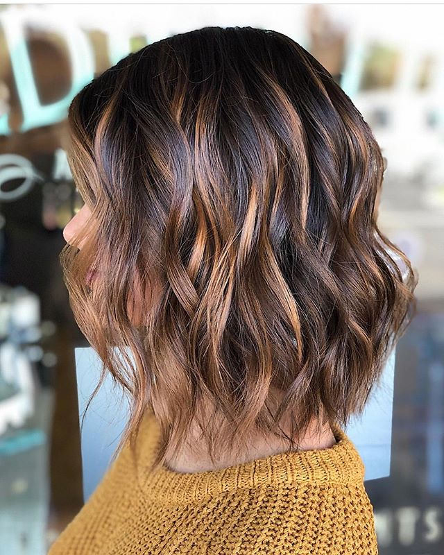 Love everything about this color & cut by @chelsxee. #DedicationSalon #lagunaniguel #orangecounty #hairbrained #americansalon #oribe #southcounty