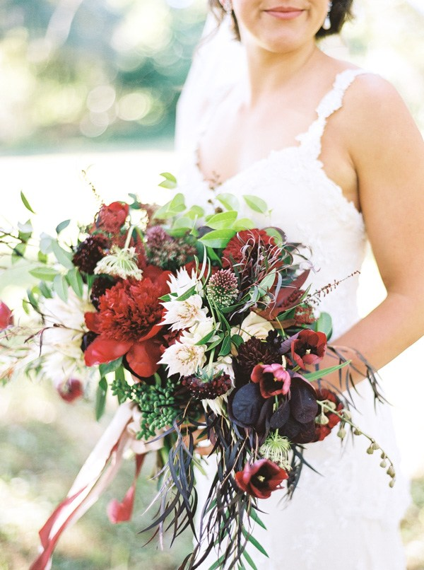 This bouquet by Isn't She Lovely Florals is incredible!