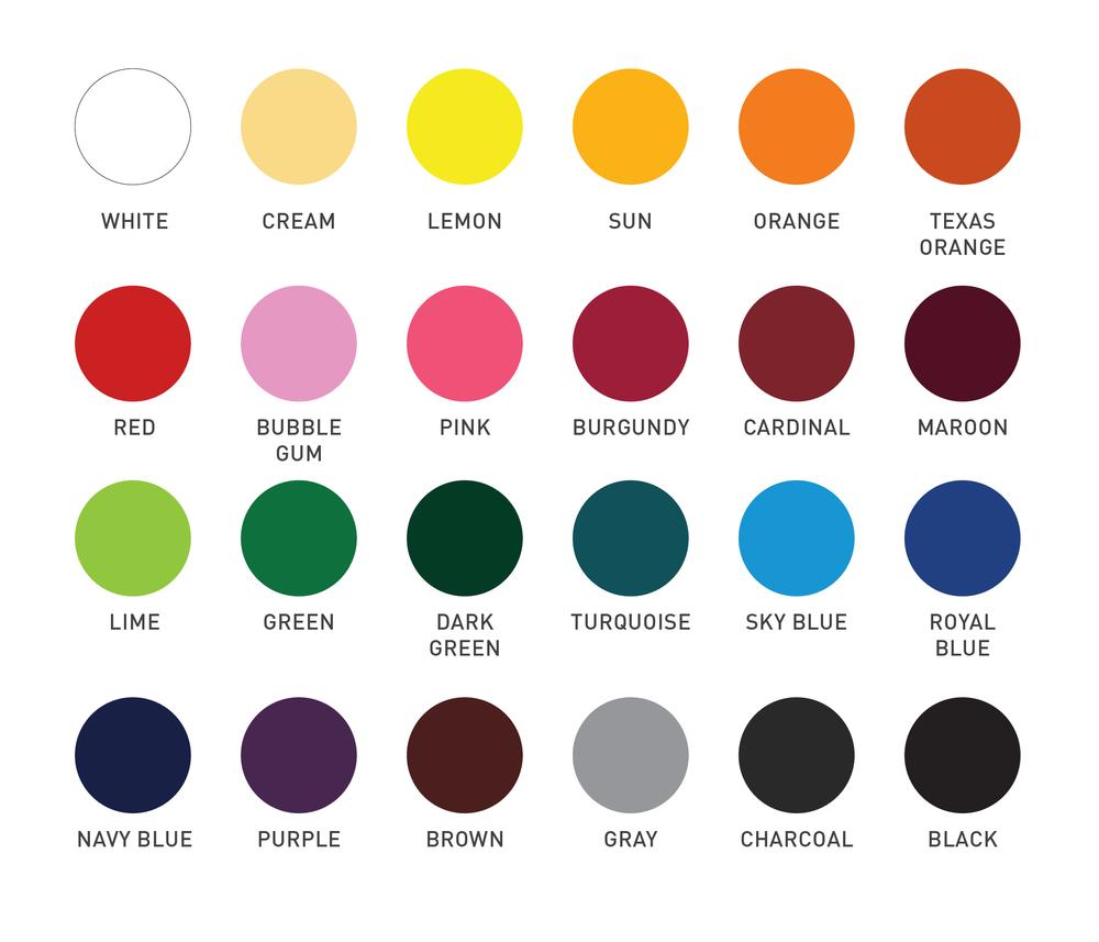 Vinyls color chart pink turtle monograms vinyls color chart nvjuhfo Images