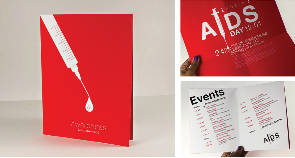 Print Collateral | Event Schedule & Poster