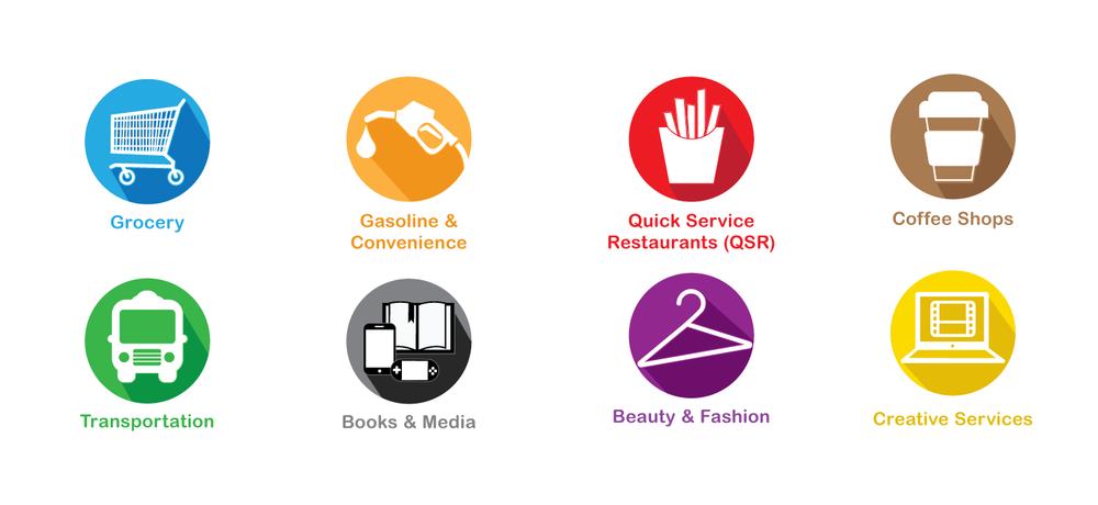 Discounts & Rewards | Bracket Challenge Icon Set