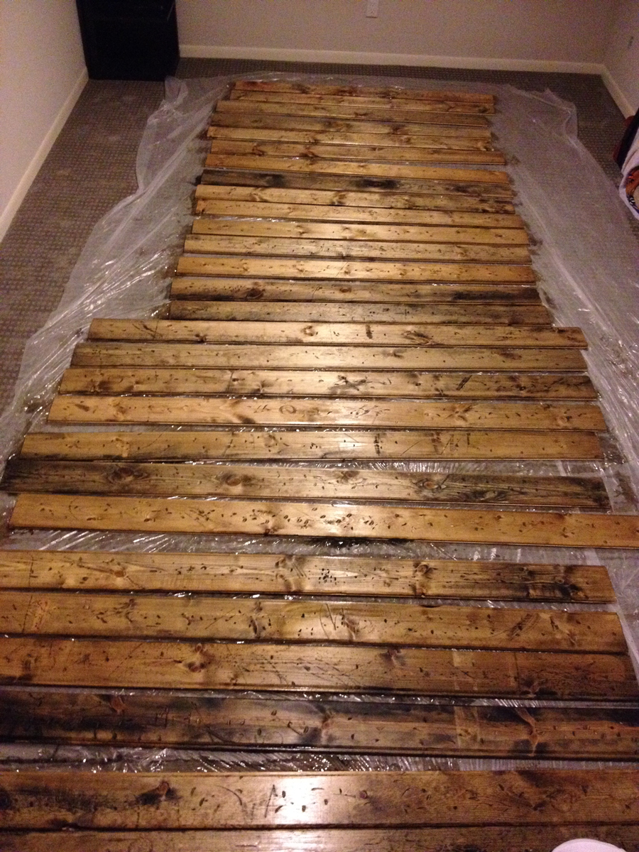 How to create a diy reclaimed wood fireplace surround for for 100 floors floor 55
