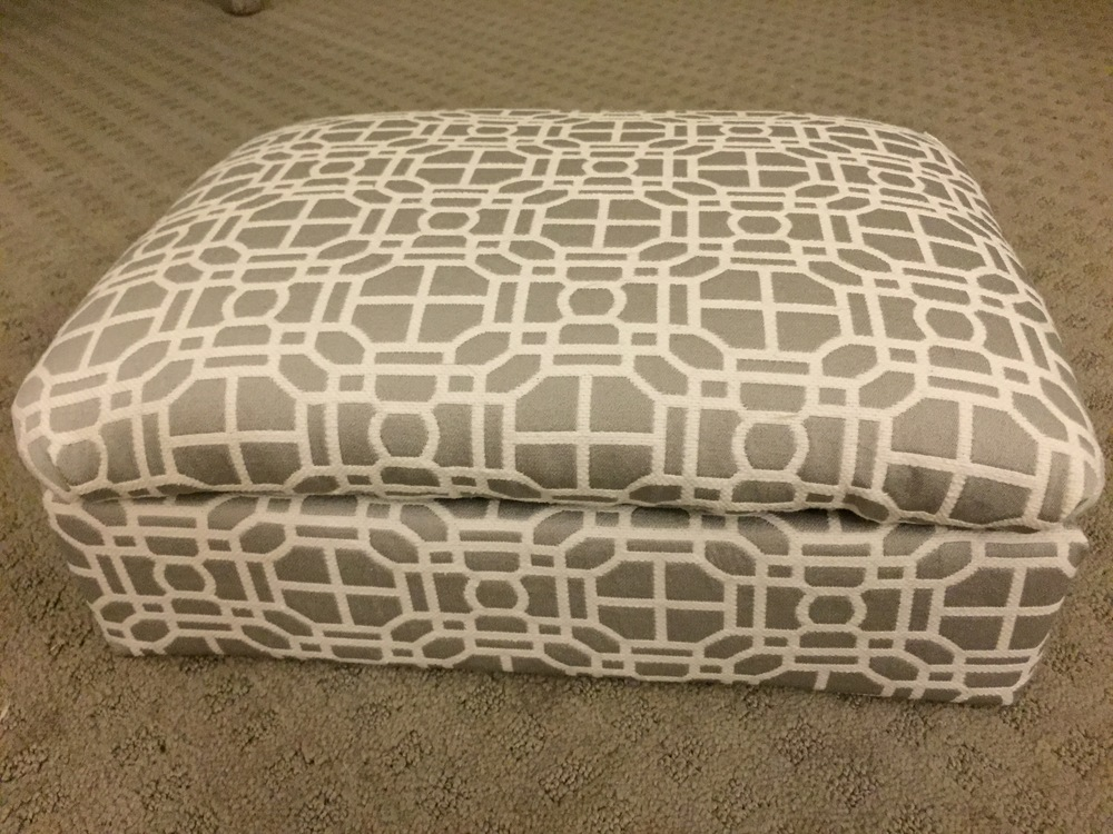 Upholstered Stool Without Base