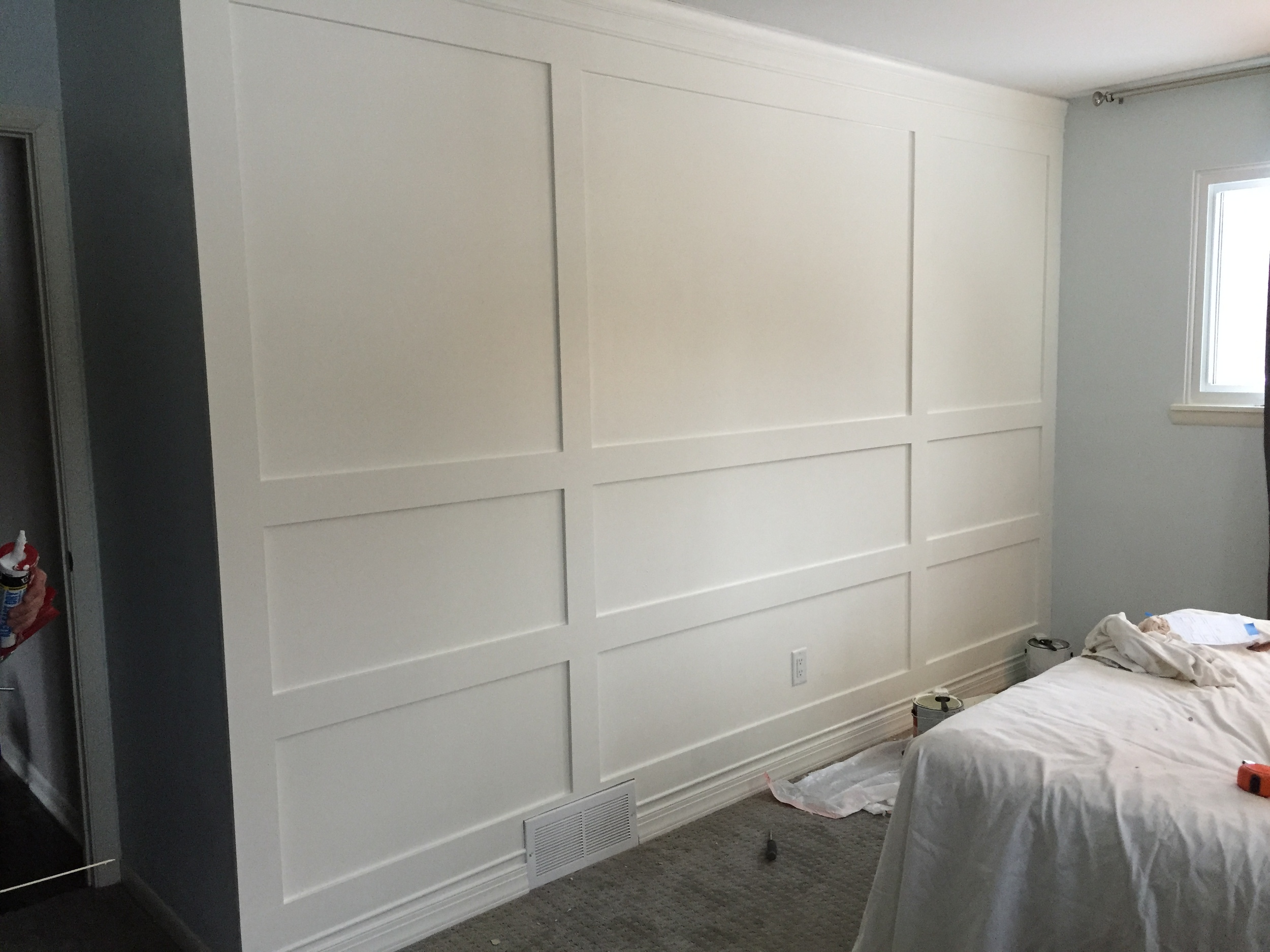 Building A Wood Paneled Wall You Can Do It Too
