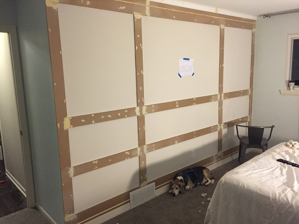 DIY Board and Batten Wall