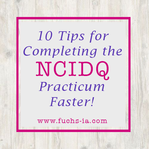NCIDQ Tips for the Exam