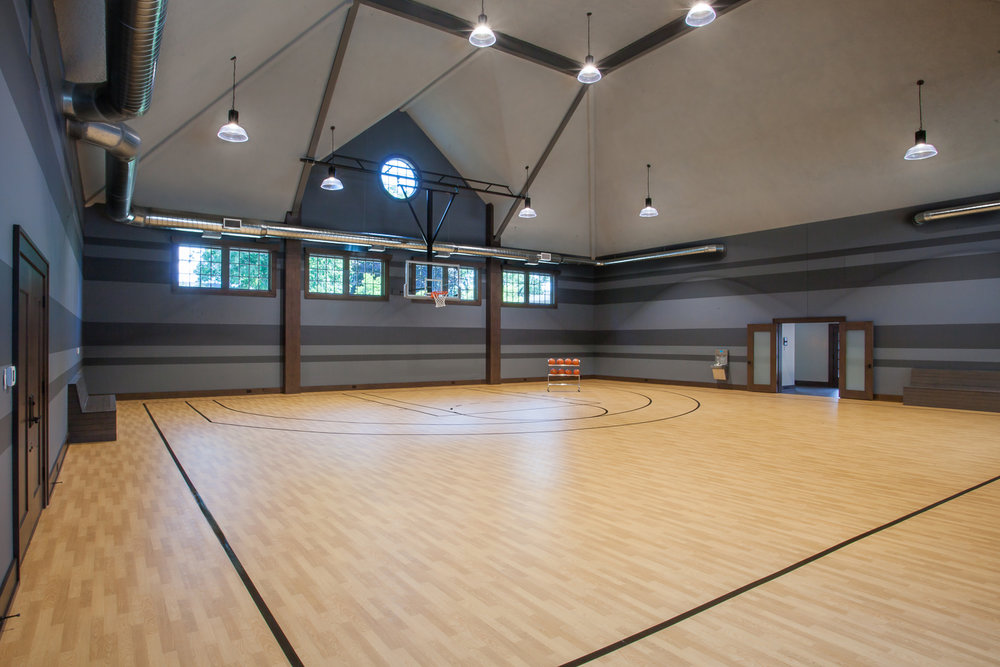 Home Basketball Court Gym