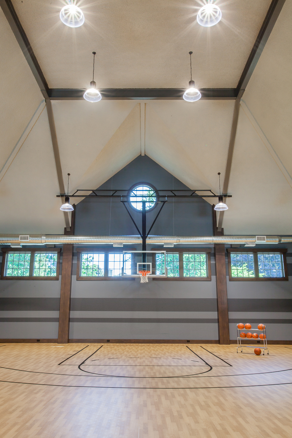 Home Indoor Basketball Court