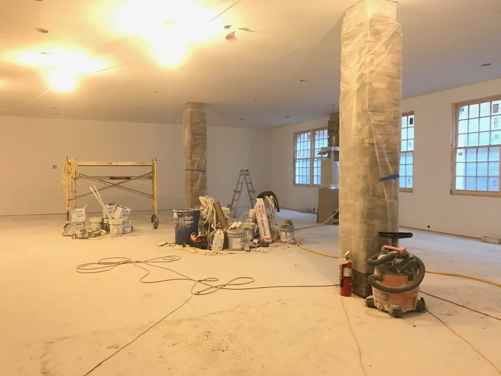 Exercise Room Progress - February 2017