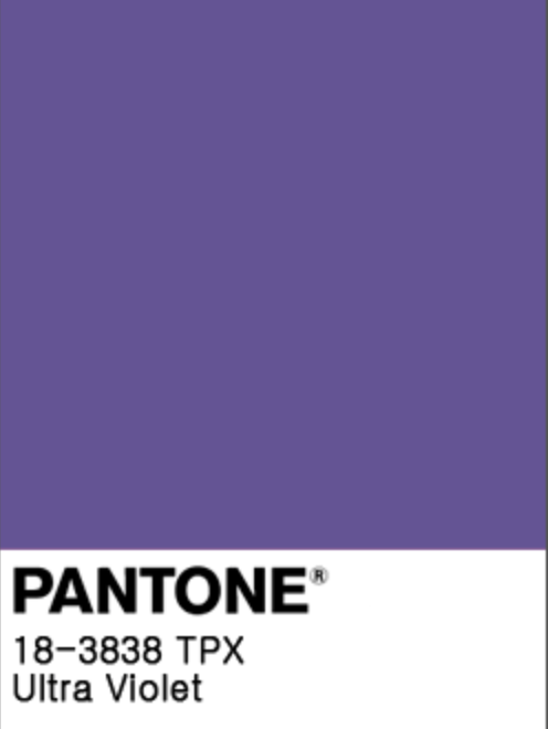 PANTONE ULTRA VIOLET 18-3838