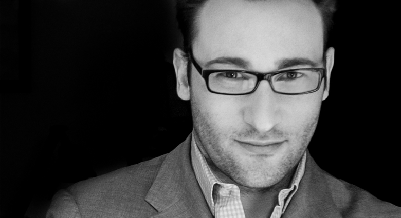 Simon sinek - PROBABLY DOESN'T HAVE A BAD SIDE TO WAKE UP ON.....