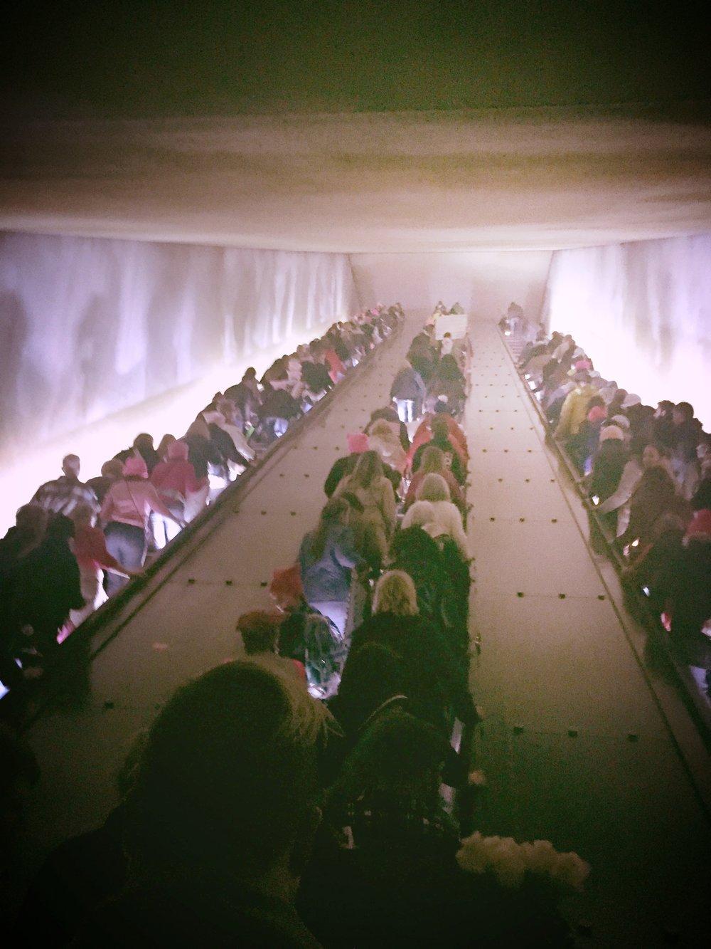 overloaded subways