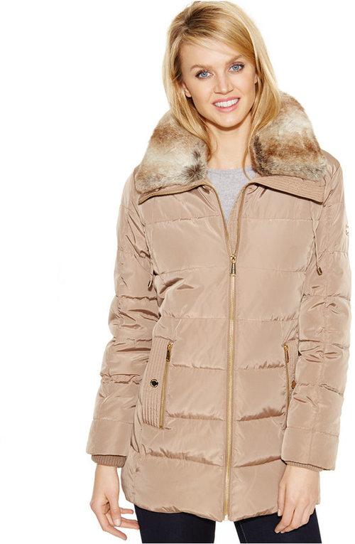 Michael kors Women's Plus Size Down Coat — Zooloo LeatherZooloo ...