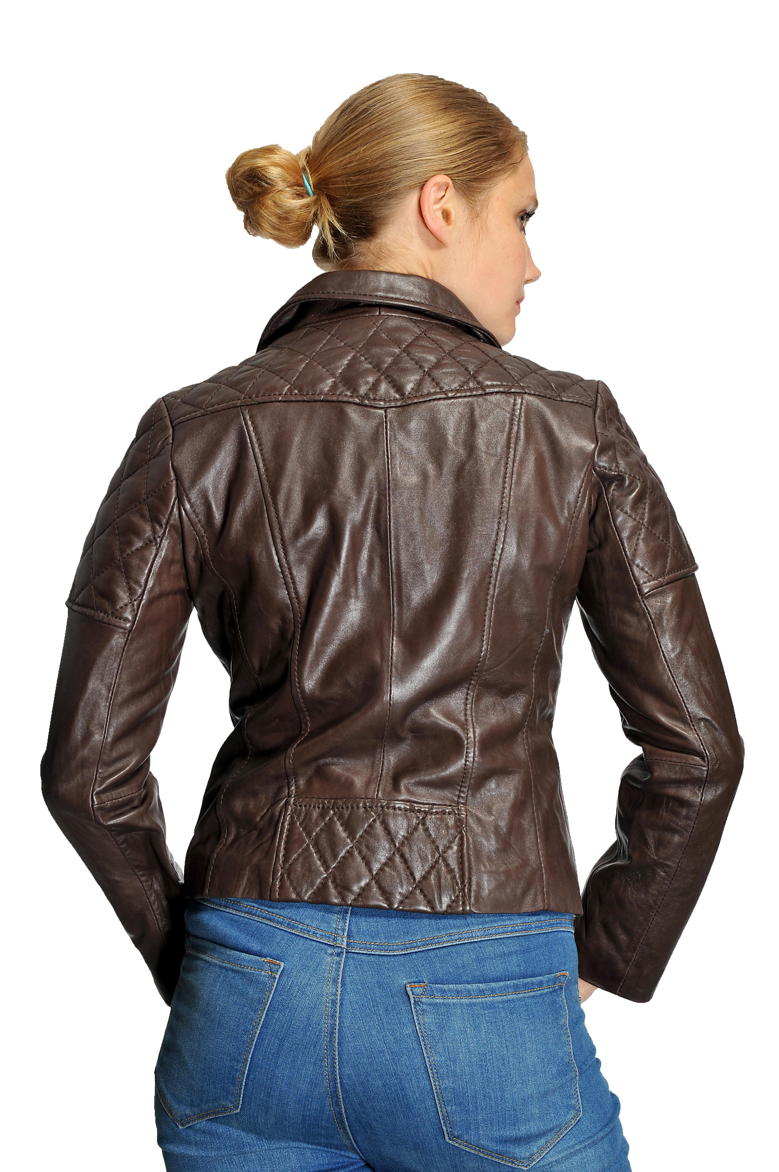 389dc354c5c Michael Kors Plus Size Moto Leather Jacket — Zooloo LeatherZooloo ...