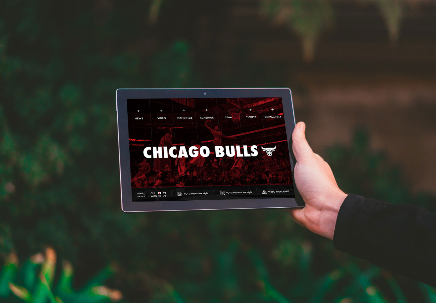 Chicago Bulls Dave Grant O UX And Product Design