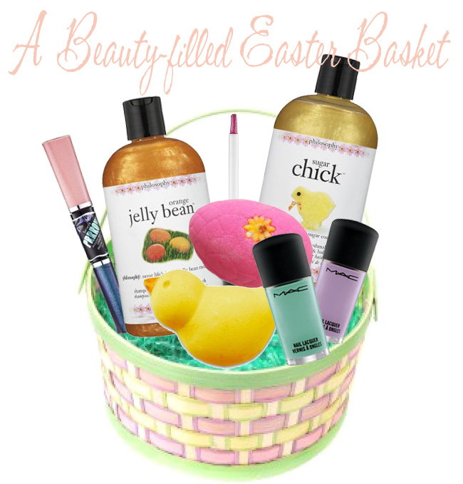 A beauty filled easter basket beautiful makeup search a beauty filled easter basket negle Choice Image