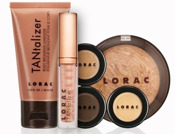 LORAC TANtalizer To Glow Go Collection