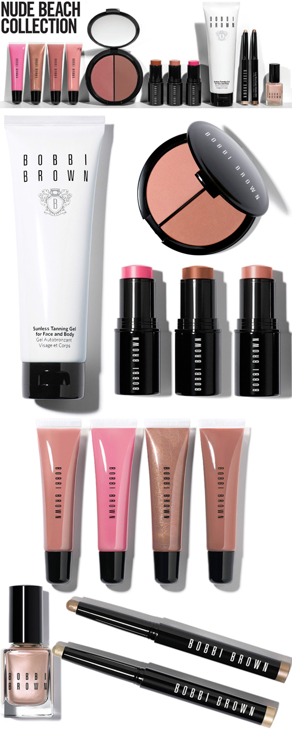 Bobbi Brown Nude Beach Collection Review