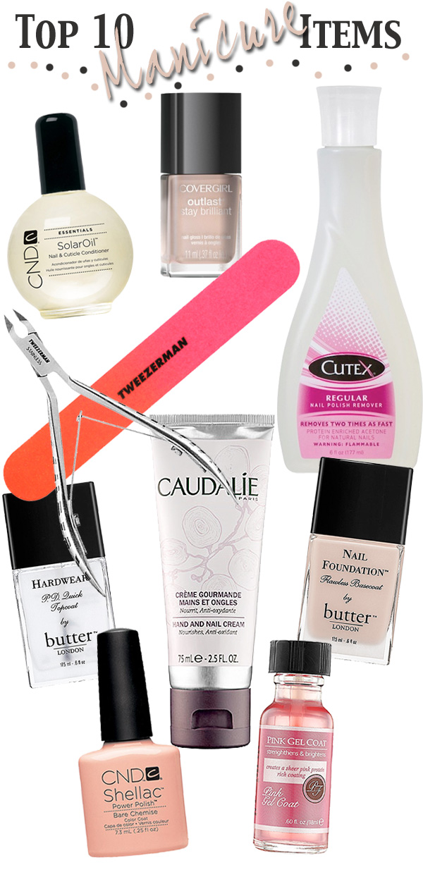Top 10 Manicure Items for Perfect Nails